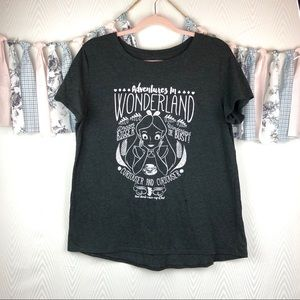 Disney' Alice In Wonderland T-Shirt Size XL